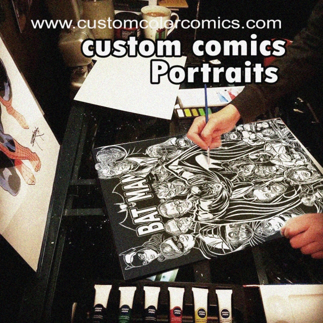 Custom art and comics.