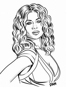 Actress by Dan Burke.