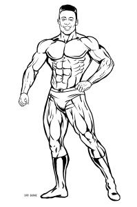 Super Hero by Dan Burke.