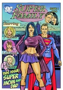 Color Custom comic art.